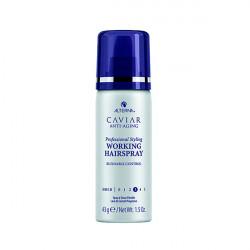 Лак подвижной фиксации с антивозрастным уходом Alterna Caviar Anti-Aging Professional Styling Working Hairspray mini 50 гр 60030R