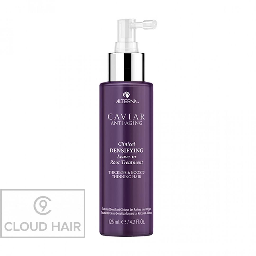 Несмываемый спрей-детокс для уплотнения и стимулирования роста волос Alterna Caviar Anti-Aging Clinical Densifying Leave-in Root Treatment 125 мл 66002RE