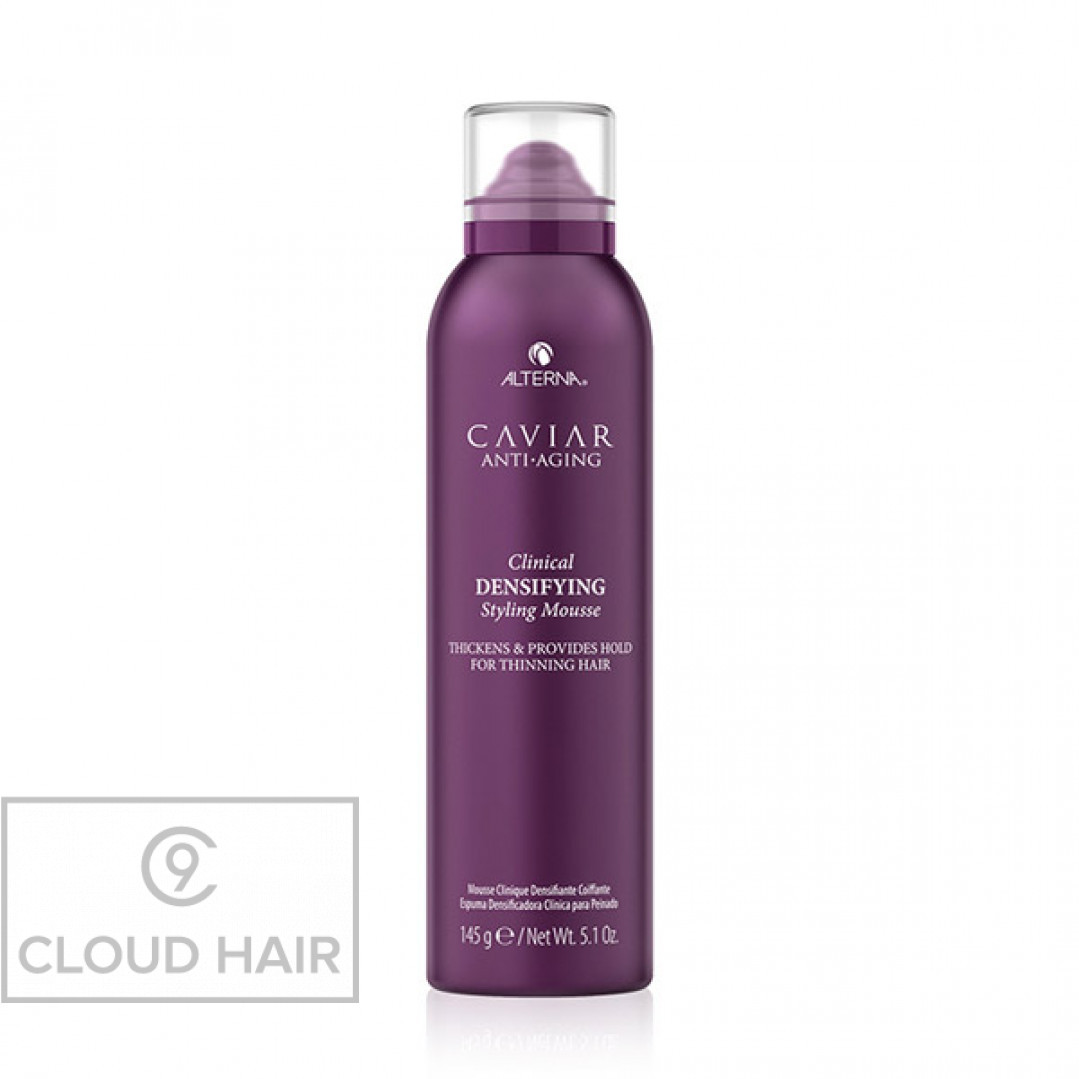 Мусс-детокс для уплотнения и стимулирования роста волос Alterna Caviar Anti-Aging Clinical Densifying Styling Mousse 145 гр 67169RE