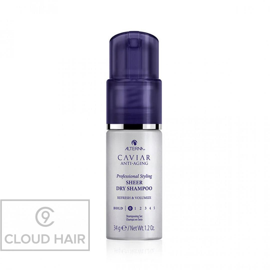 Сухой шампунь для волос с антивозрастным уходом Alterna Caviar Anti-Aging Professional Styling Sheer Dry Shampoo 34 гр 67257RE