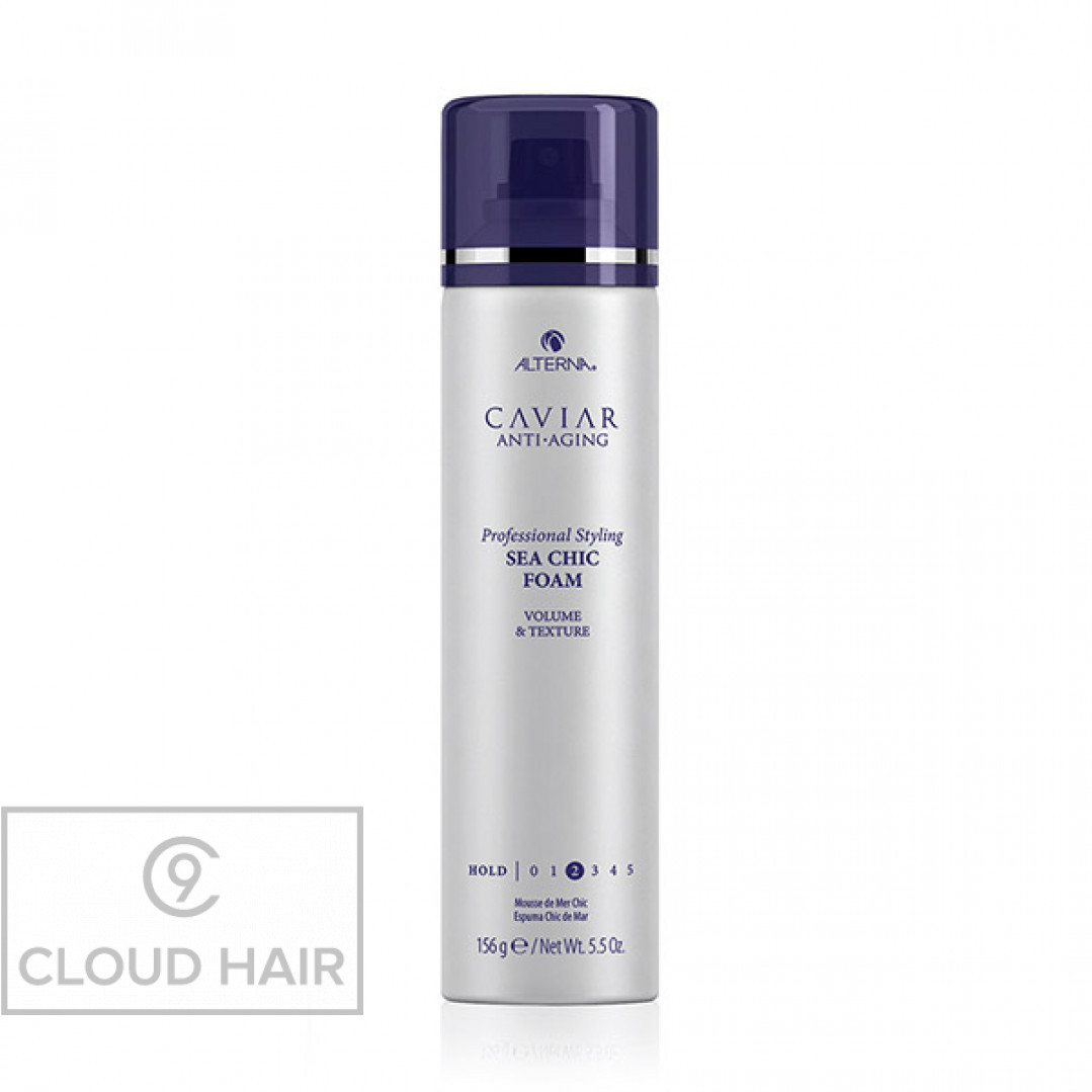 Пена-спрей для текстуры и объема Alterna Caviar Anti-Aging Professional Styling Sea Chic Foam 156 гр 67280RE