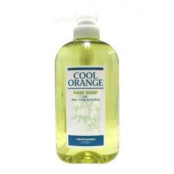 Шампунь для жирной кожи головы Lebel Cool Orange Hair Soap Cool 600 мл 1170лп