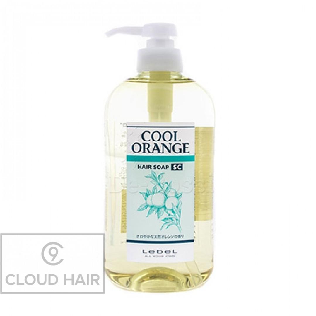 Шампунь против выпадения волос Lebel Cool Orange Hair Soap Super Cool 600 мл 1200лп