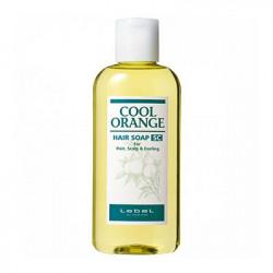 Шампунь против выпадения волос Lebel Cool Orange Hair Soap Super Cool 200 мл 1217лп