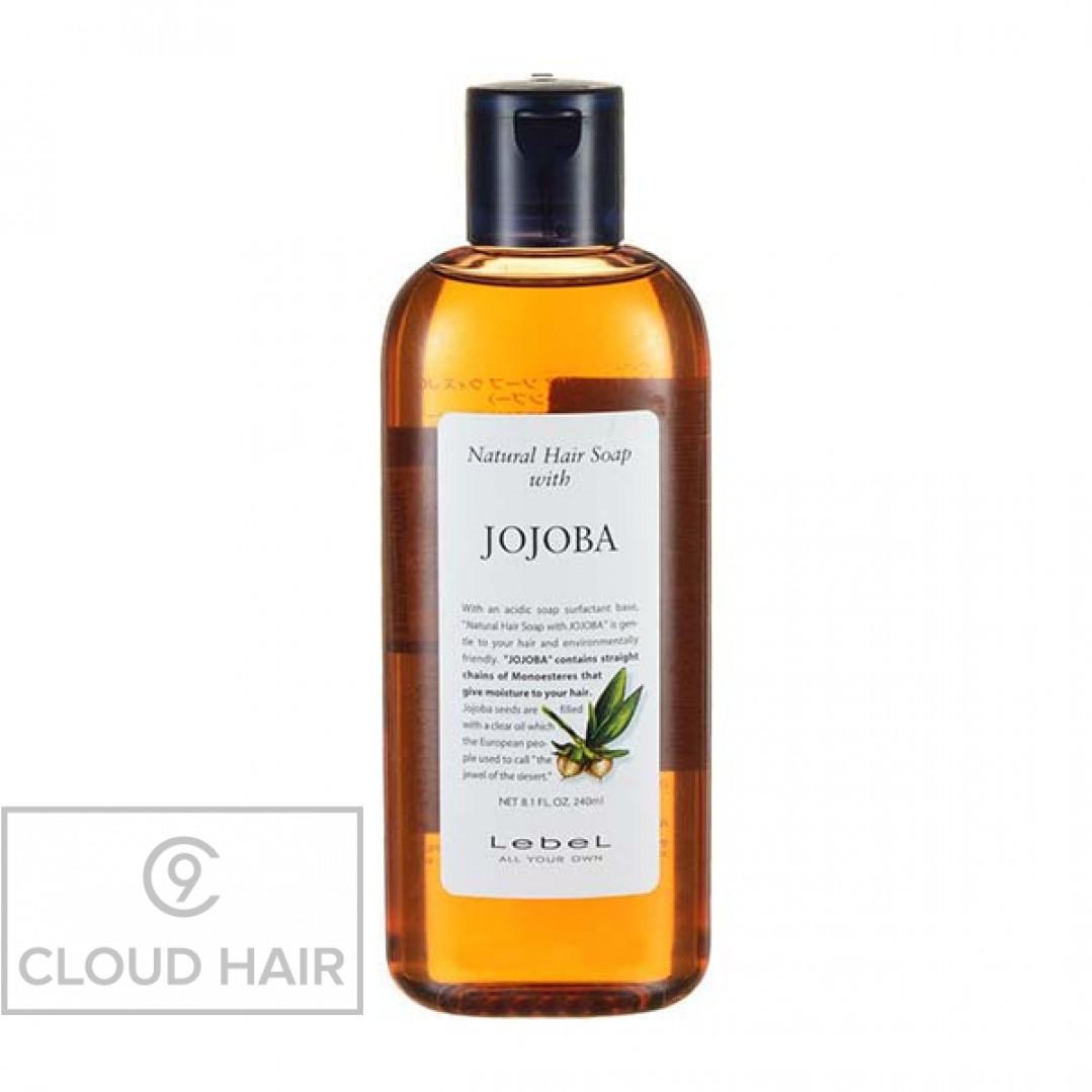 Шампунь натуральный увлажняющий Lebel Natural Hair Soap Jojoba 240 мл 1361лп