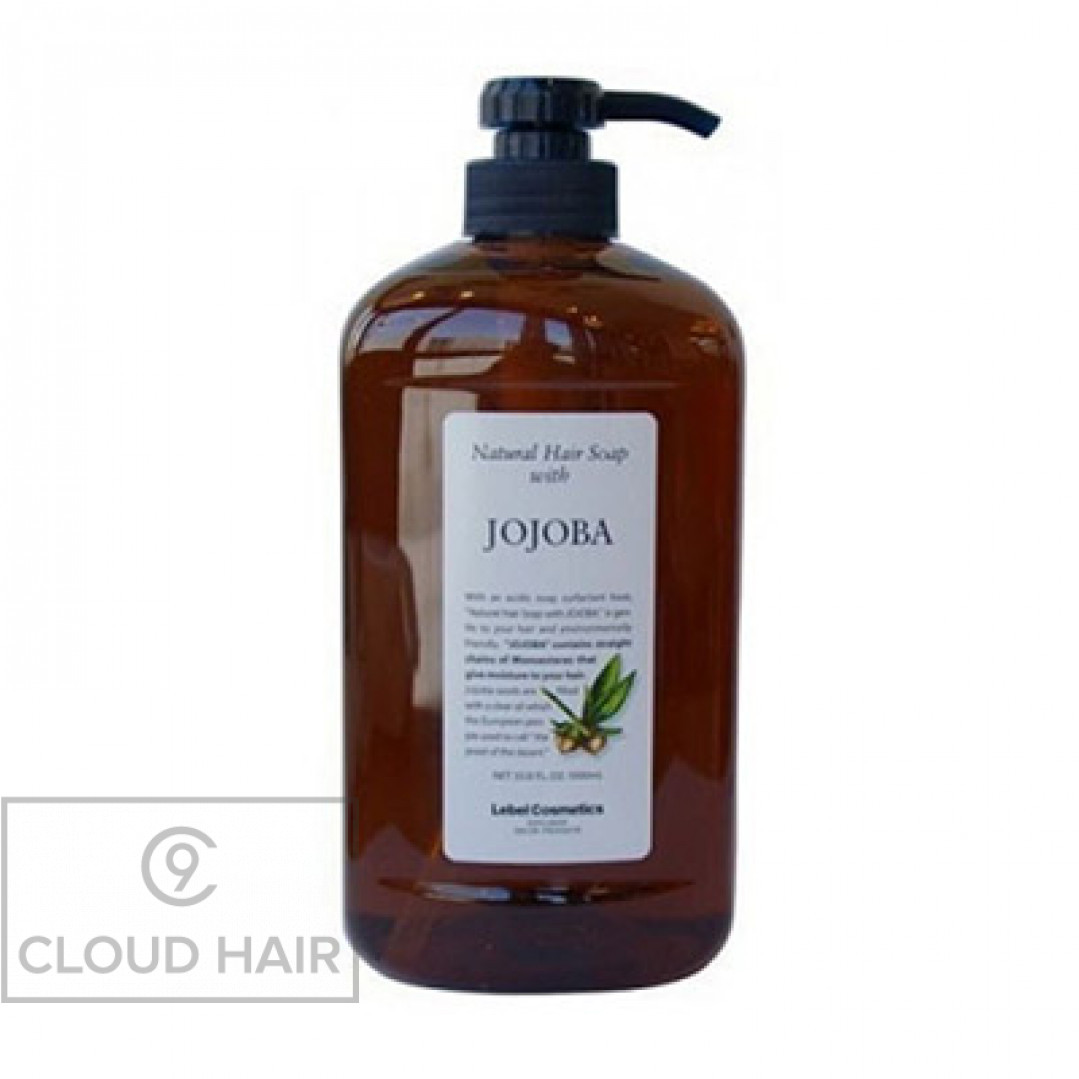Шампунь натуральный увлажняющий Lebel Natural Hair Soap Jojoba 1000 мл 1576лп