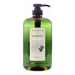 Шампунь натуральный Морские водоросли для нормальных волос Lebel Natural Hair Soap Seaweed 1000 мл 1583лп