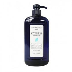 Шампунь натуральный для сухой кожи головы Lebel Natural Hair Soap Cypress 1000 мл 1590лп