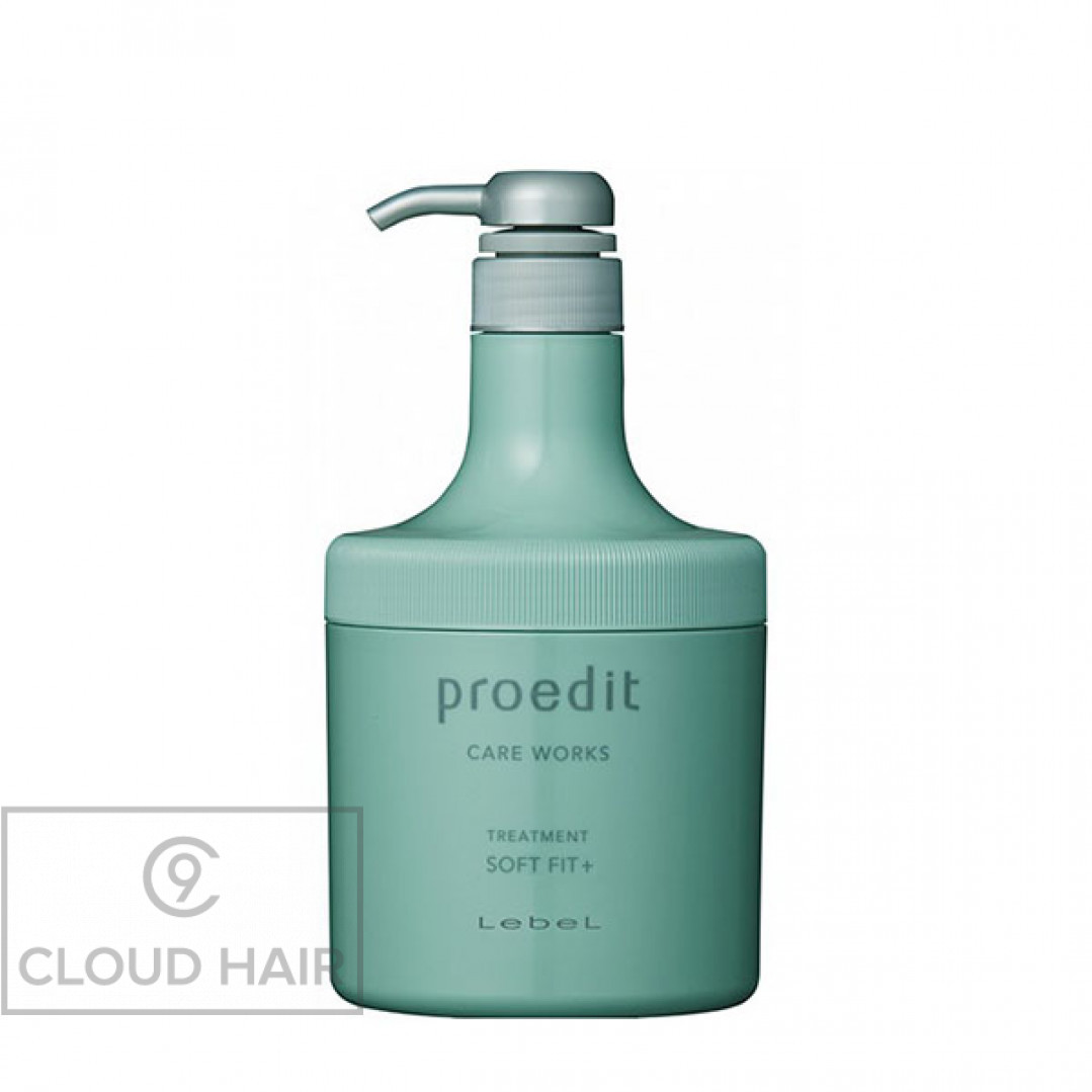 Маска увлажняющая Lebel Proedit Home Hair Treatment Soft Fit Plus 600 мл 3266лп