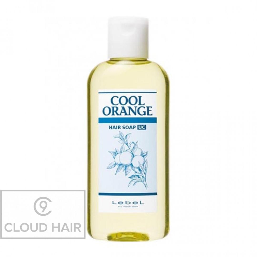 Шампунь против выпадения волос Lebel Cool Orange Hair Soap Ultra Cool 200 мл 3686лп