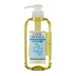 Шампунь против выпадения волос Lebel Cool Orange Hair Soap Ultra Cool 600 мл 3693лп