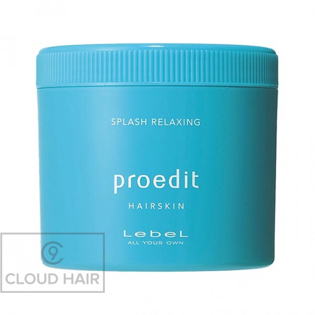 Крем для волос и кожи головы освежающий Lebel Proedit Hairskin Relaxing Splash Relaxing 360 гр 3808лп