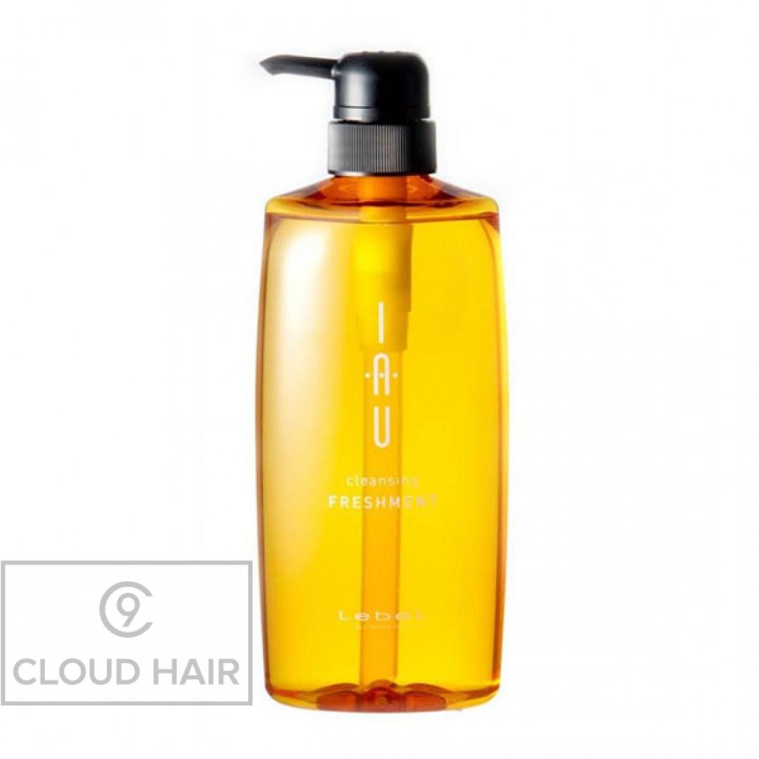 Аромашампунь охлаждающий для жирной кожи головы Lebel IAU Cleansing Freshment 600 мл 4225лп