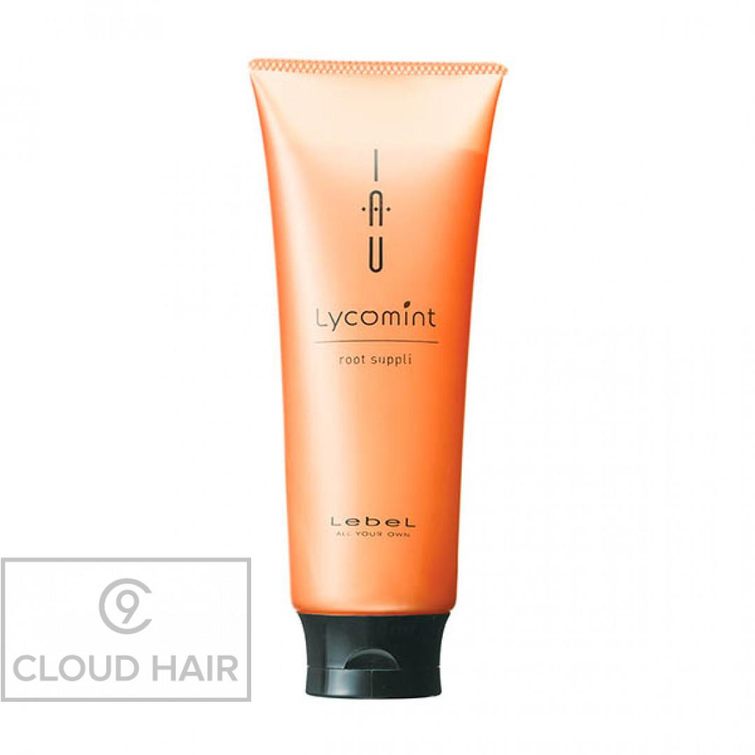Крем для волос и кожи головы питательный увлажняющий Lebel IAU Lycomint Root Suppli 200 мл 4874лп
