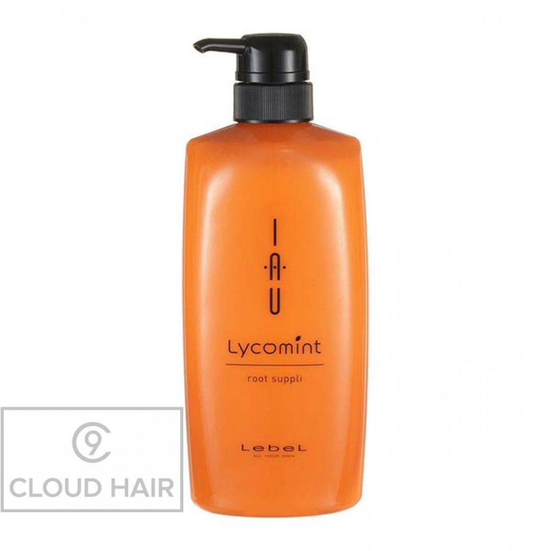 Крем для волос и кожи головы питательный увлажняющий Lebel IAU Lycomint Root Suppli 600 мл 4881лп
