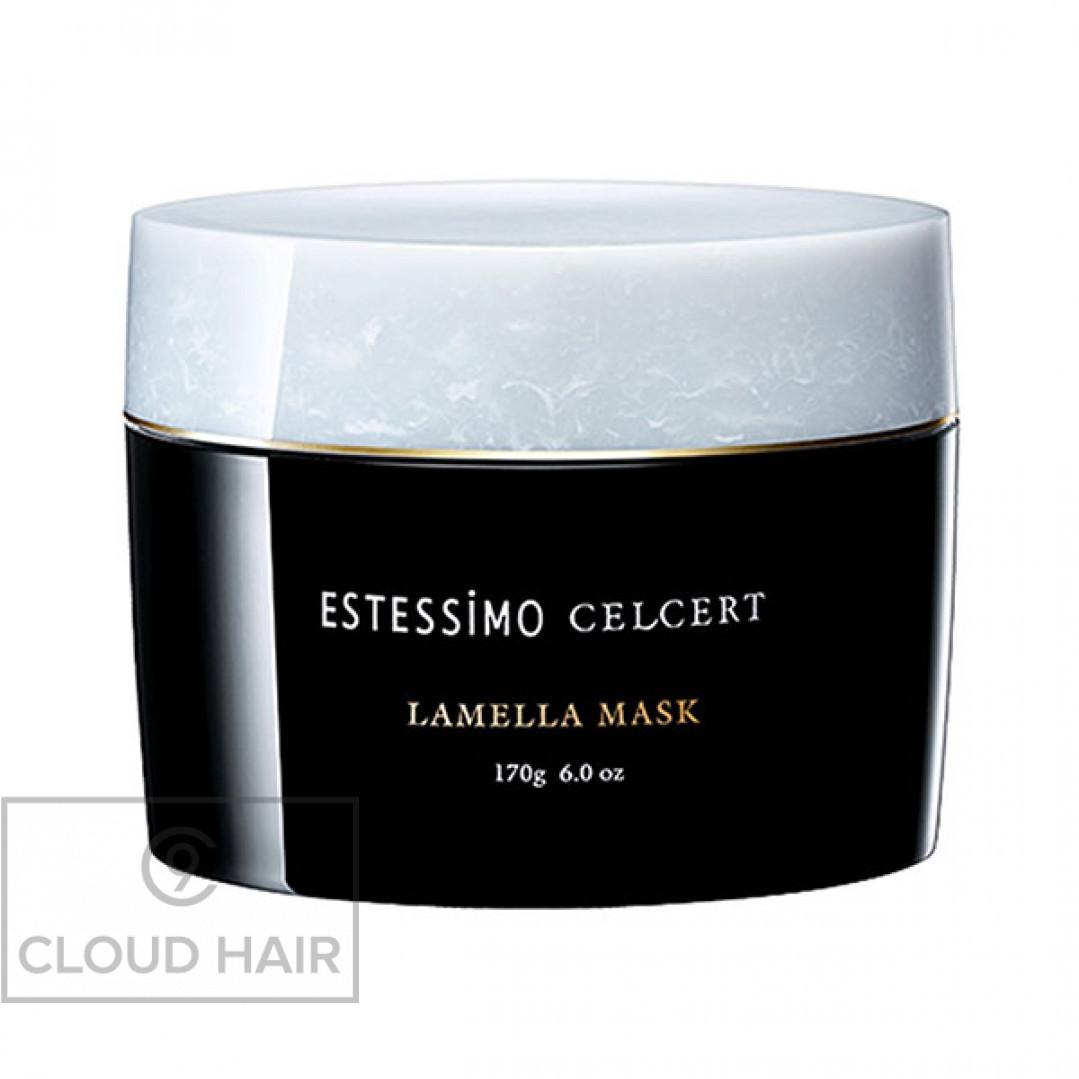 Маска для волос ламеллярная мгновенного действия Lebel Estessimo Celcert Lamella Mask 170 гр 5525еп