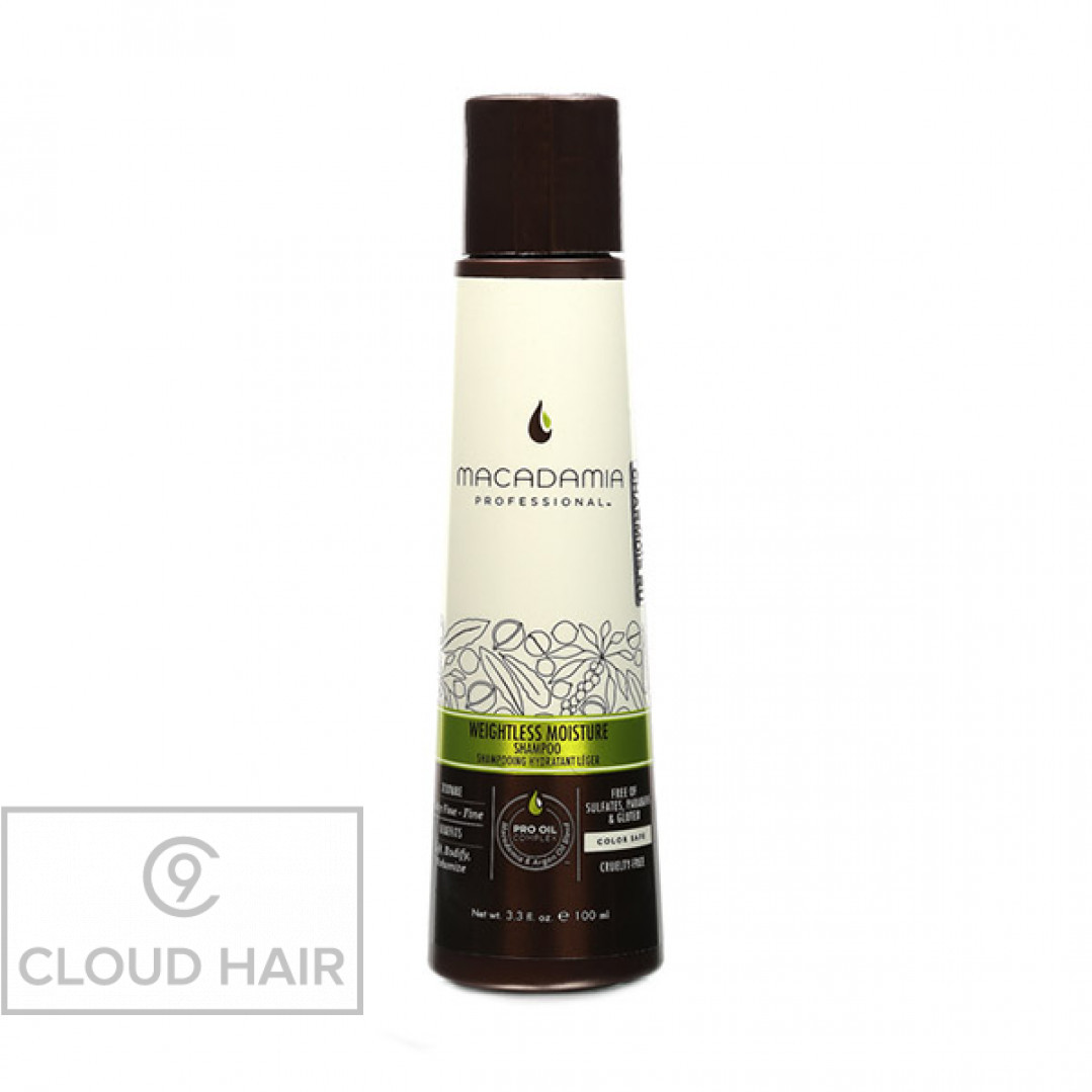 Шампунь увлажняющий для тонких волос Macadamia Professional Weightless Moisture Shampoo 100 мл 100101
