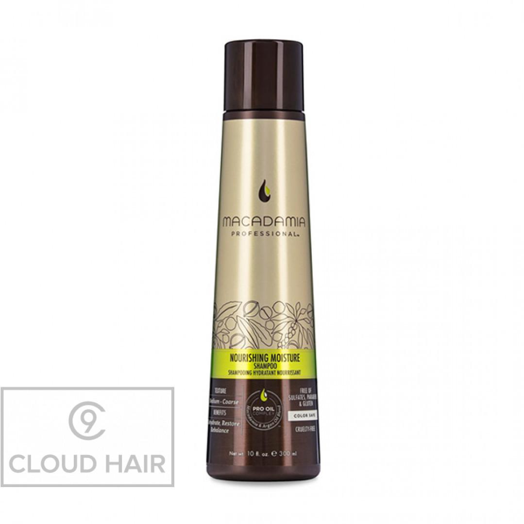 Шампунь питательный для всех типов волос Macadamia Professional Nourishing Moisture Shampoo 300 мл 100200