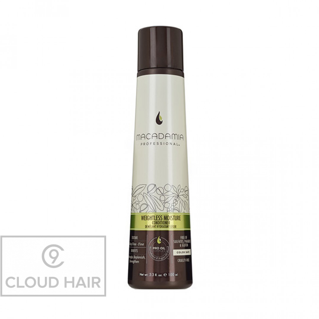 Кондиционер увлажняющий для тонких волос Macadamia Professional Weightless Moisture Conditioner 100 мл 200102