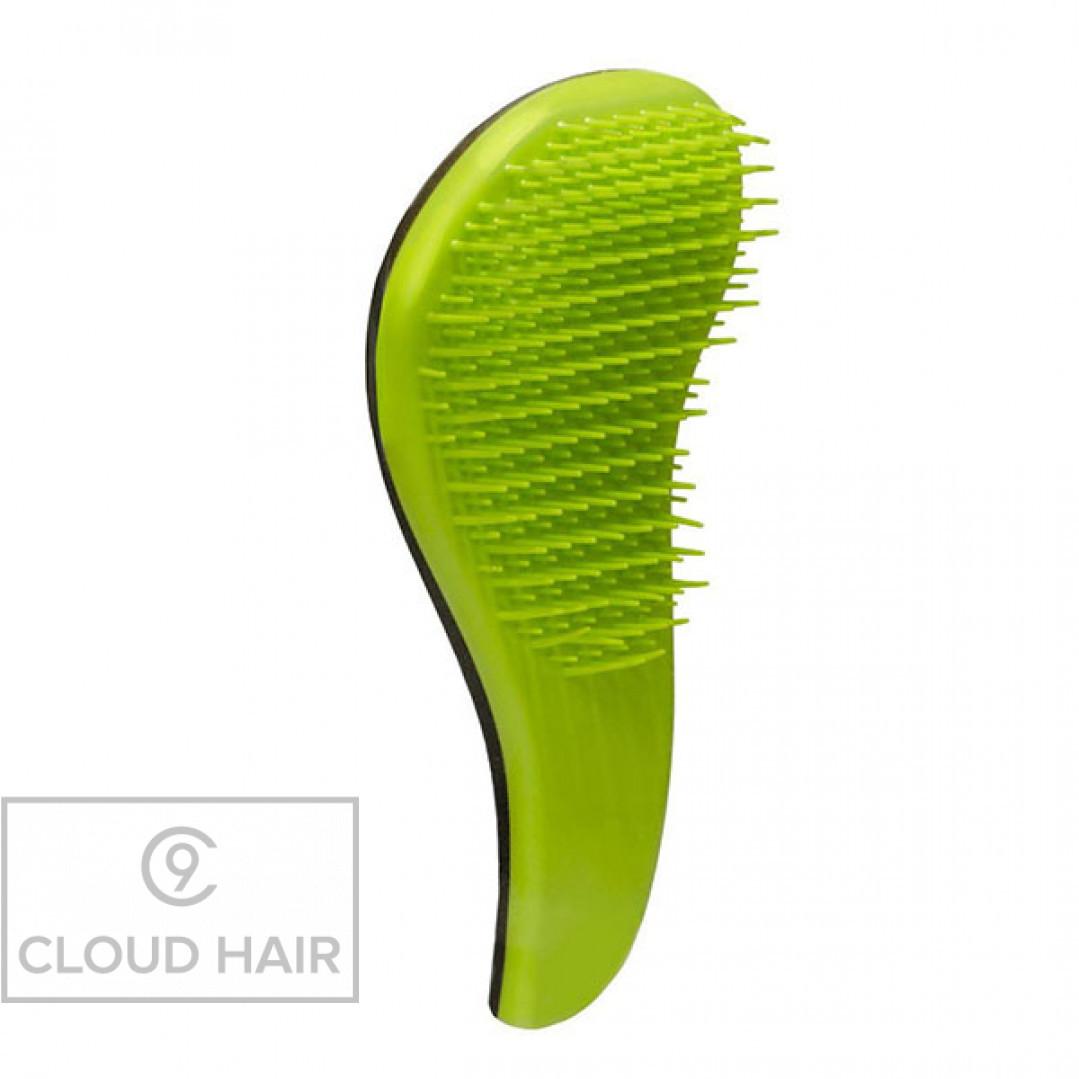 Расческа для распутывания волос Macadamia No Tangle Brush Green M3310