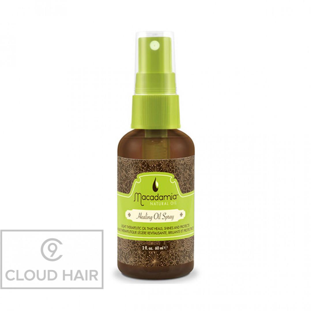 Уход восстанавливающий с маслом араганы и макадамии Macadamia Natural Oil Healing Oil Spray 60 мл MM14