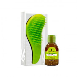 Набор Macadamia Natural Oil Расческа и Уход No Tangle Brush & Healing Oil Treatment M3310-01