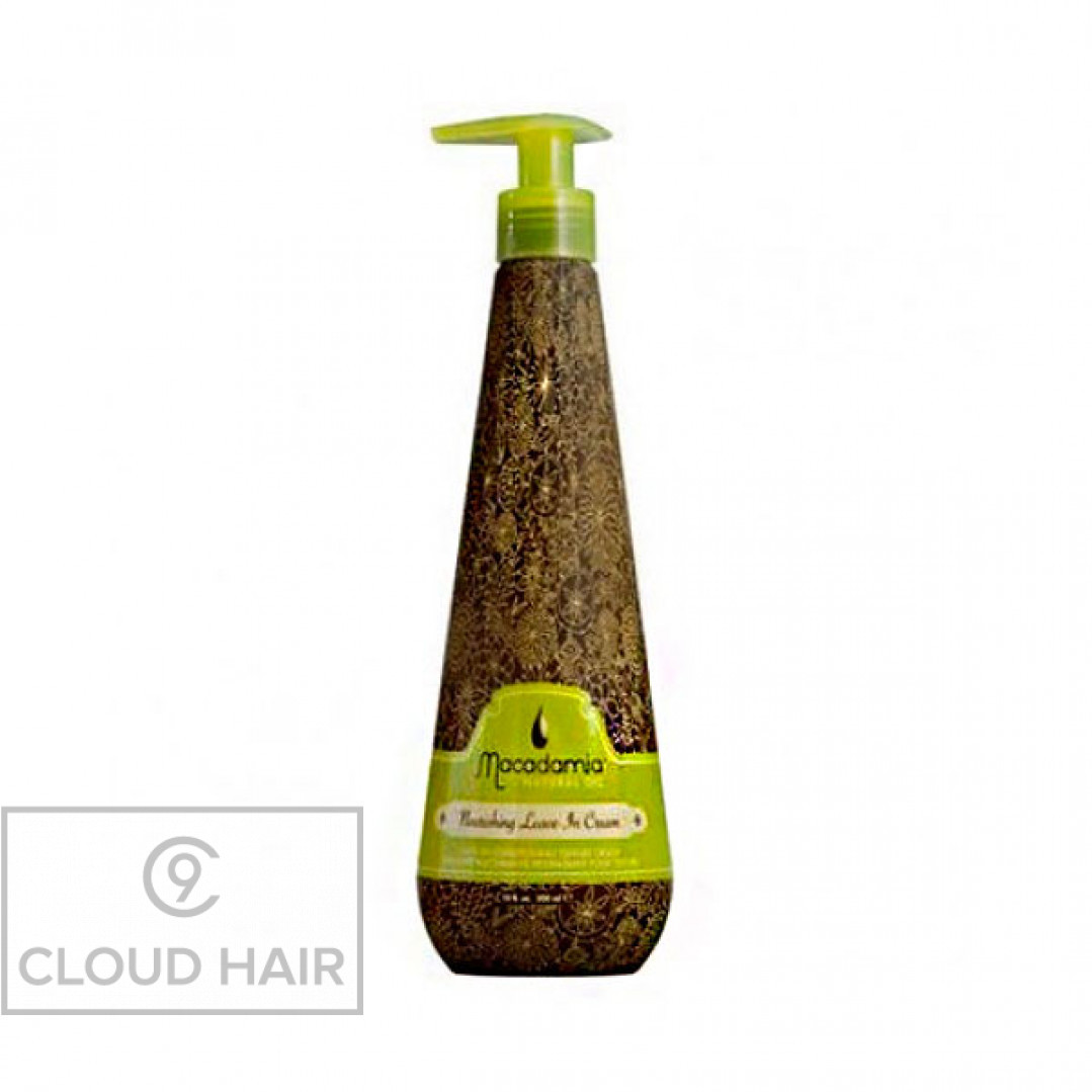 Кондиционер несмываемый питательный с маслом арганы и макадамии Macadamia Natural Oil Nourishing Leave-in Cream 300 мл MM3