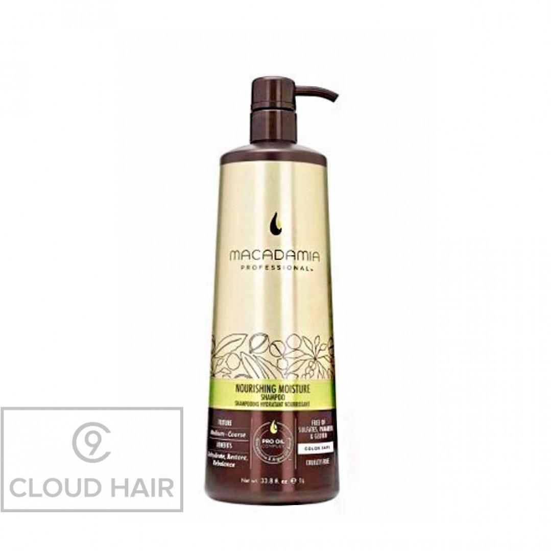 Шампунь питательный для всех типов волос Macadamia Professional Nourishing Moisture Shampoo 1000 мл 100202