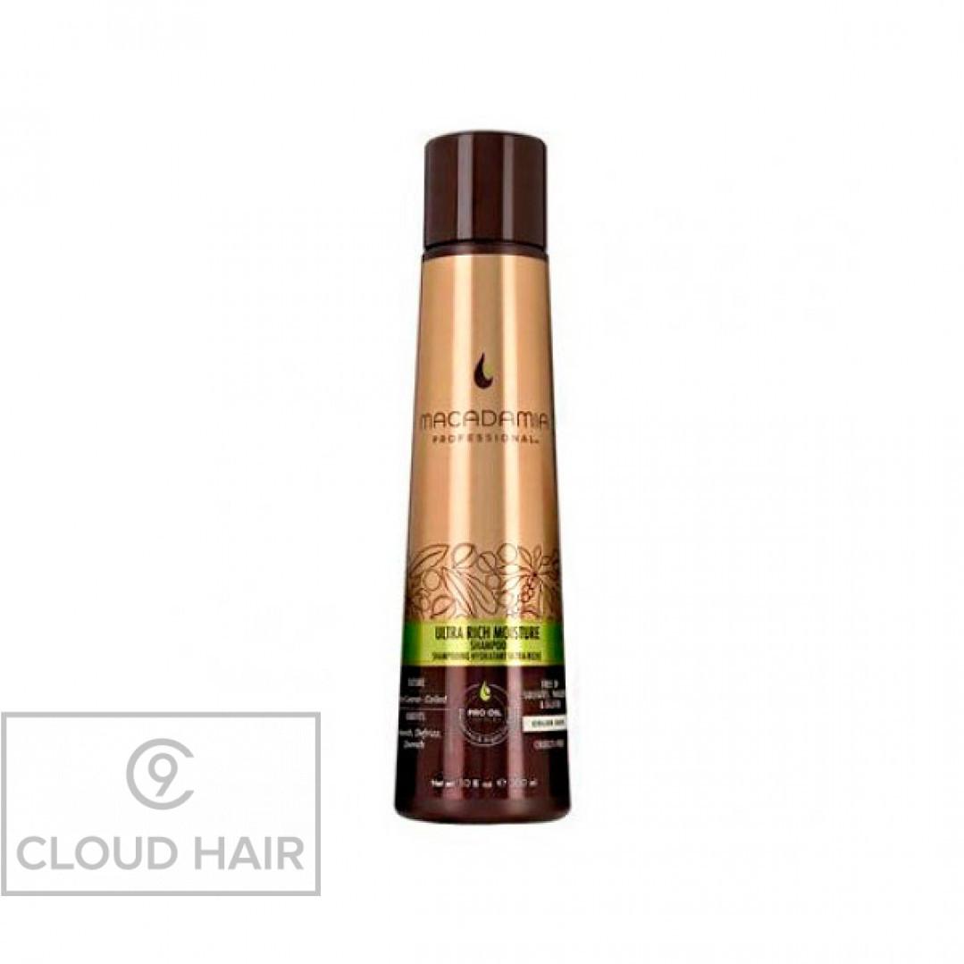 Шампунь увлажняющий для жестких волос Macadamia Professional Ultra Rich Moisture Shampoo 300 мл 100300