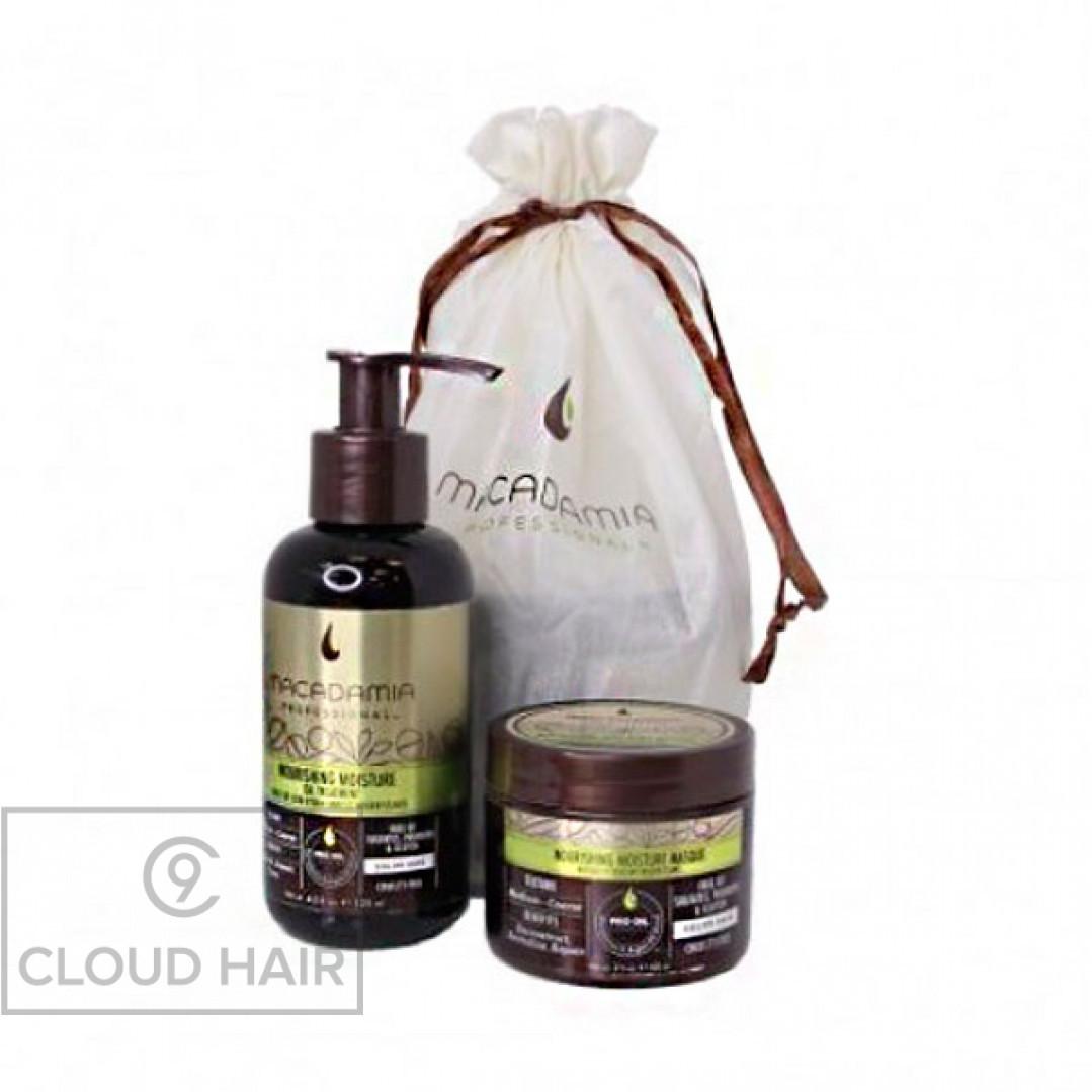 Набор Macadamia Professional Дуэт Уход-Масло и Маска Nourishing Oil & Mini Masque Duo 125 + 60 мл M5753