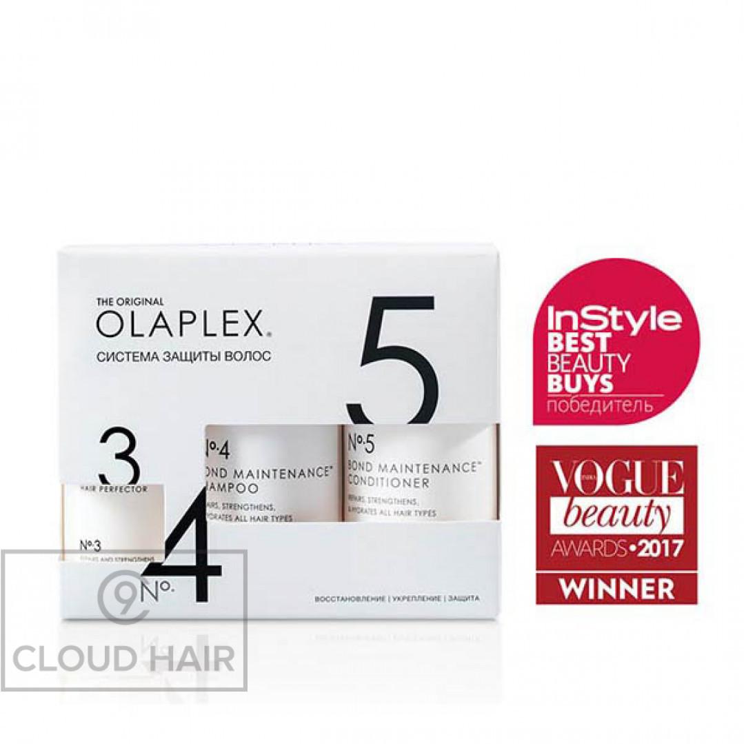 Набор Olaplex No.3-4-5 Система защиты волос Olaplex Bond Maintenance System 2x250 + 100 мл 10140002