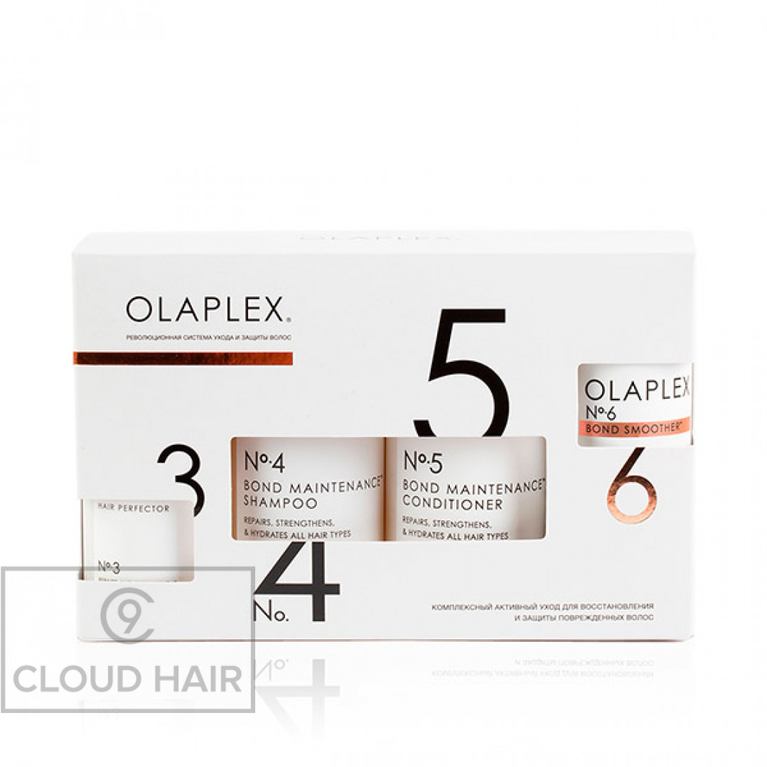 Набор Olaplex No.3-4-5-6 Система защиты волос Olaplex Bond Maintenance System 2x250 + 2x100 мл 10140003