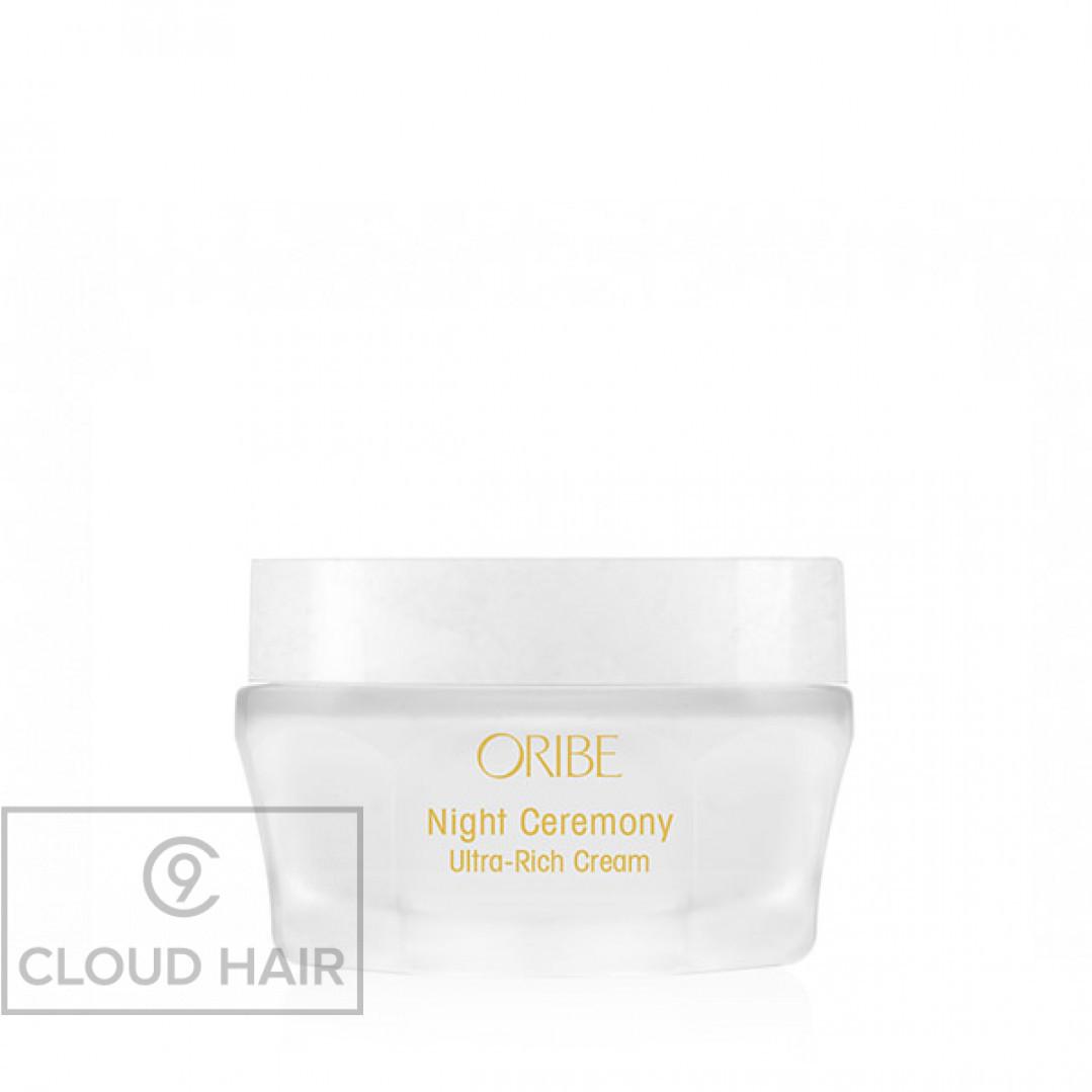 Крем для лица ночной преображающий Магия ночи Oribe Night Ceremony Ultra-Rich Cream 50 мл OR462
