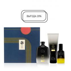 Набор для восстановления волос Роскошь золота Oribe Gold Lust Collection Holiday 250 + 200 + 50 мл OR547