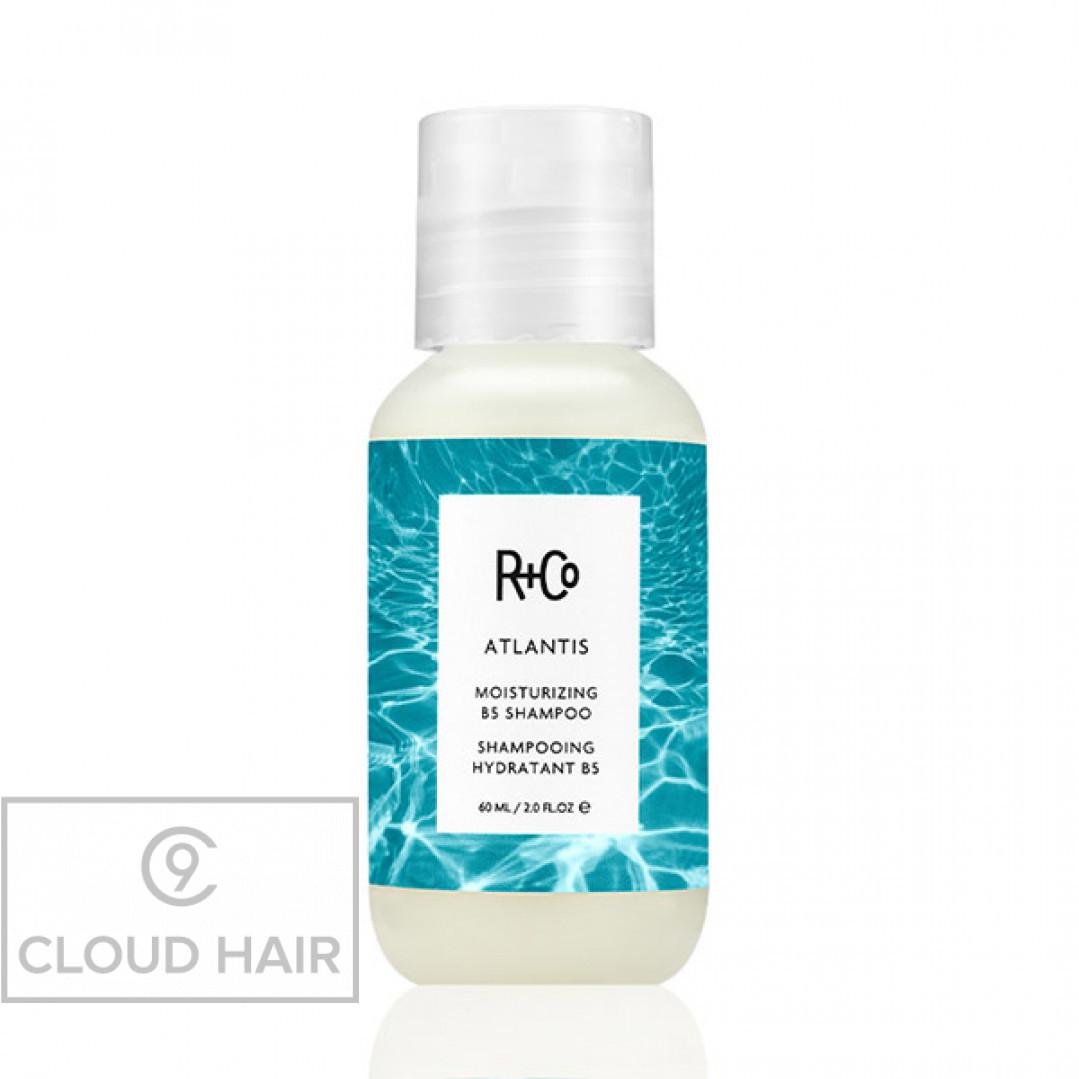 Шампунь увлажняющий с витамином B5 R+Co Атлантида Atlantis Moisturizing B5 Shampoo 60 мл R1SHATL02B1
