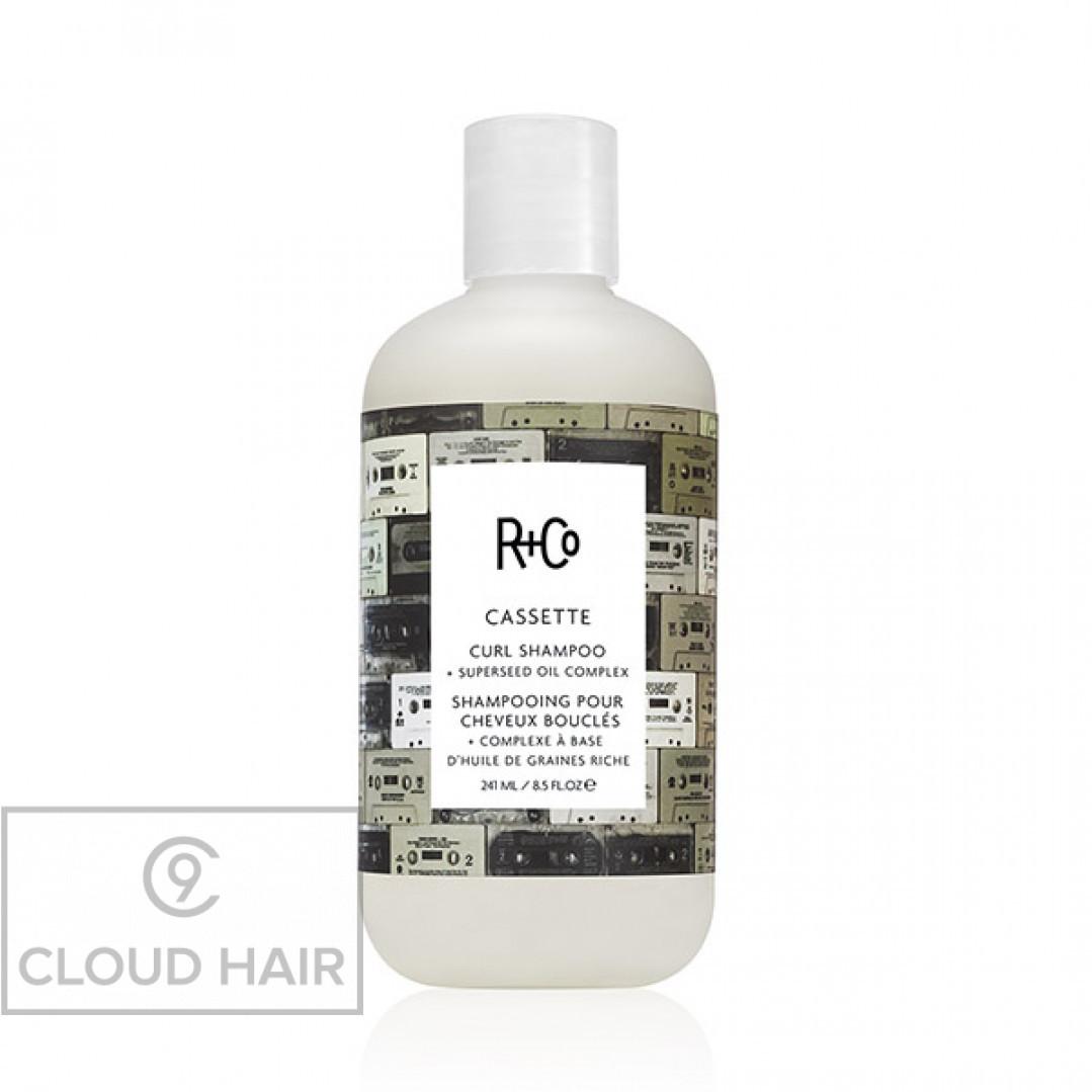 Шампунь для вьющихся волос R+Co Кассета Cassette Curl Shampoo 241 мл R1SHCAS01A1