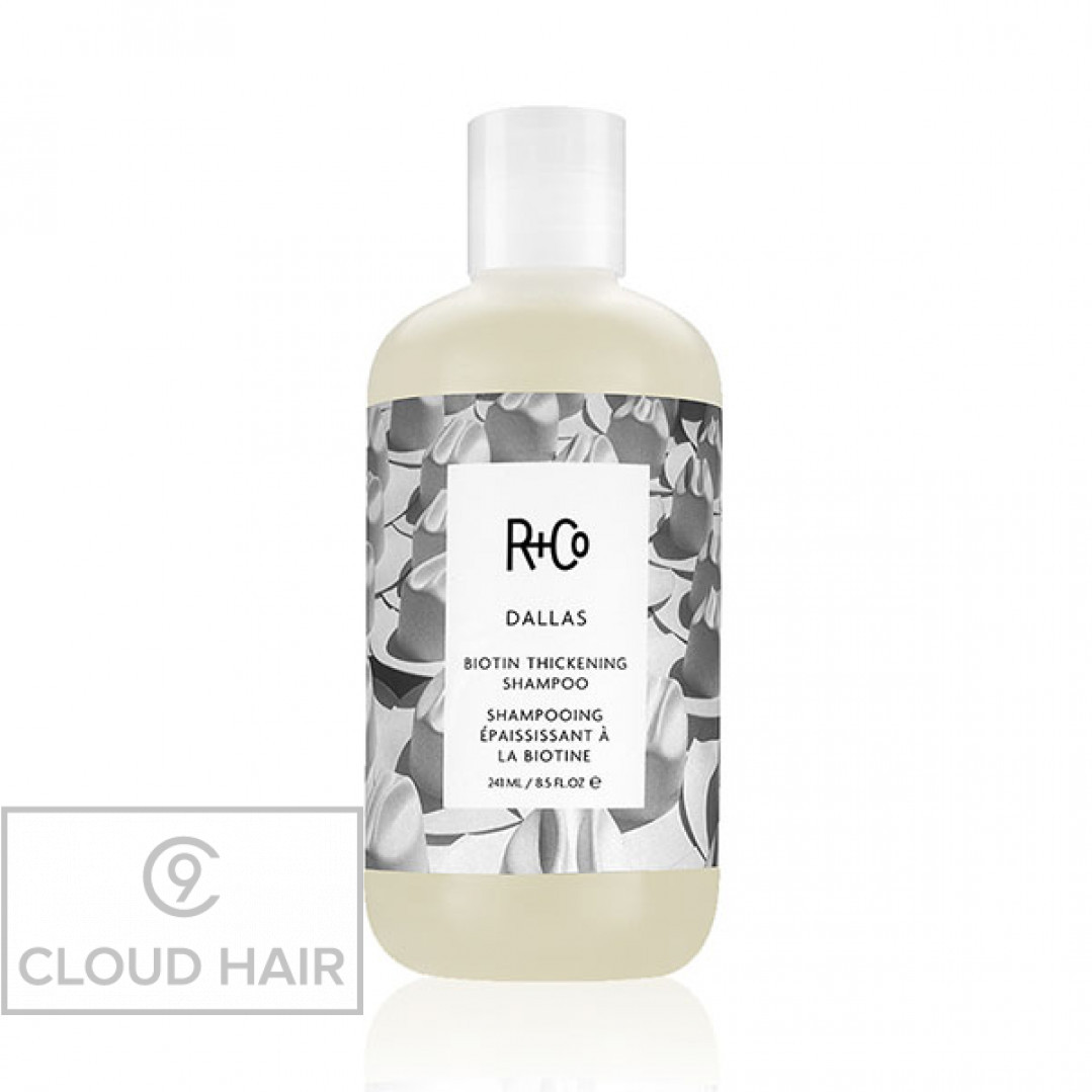 Шампунь для объема с биотином R+Co Даллас Dallas Biotin Thickening Shampoo 241 мл R1SHDAL08C1