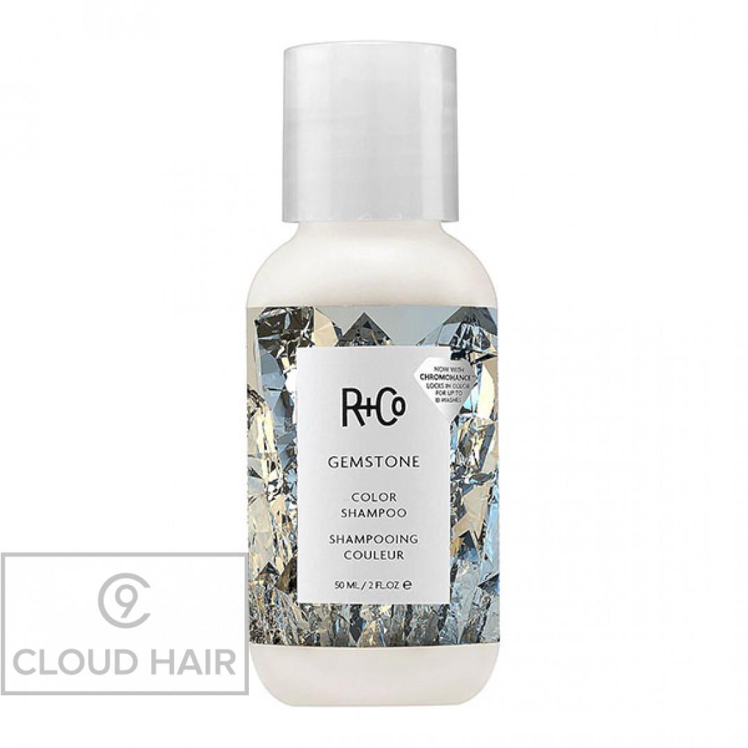 Шампунь для ухода за цветом R+Co Калейдоскоп Gemstone Color Shampoo 50 мл R1SHGEM02B1