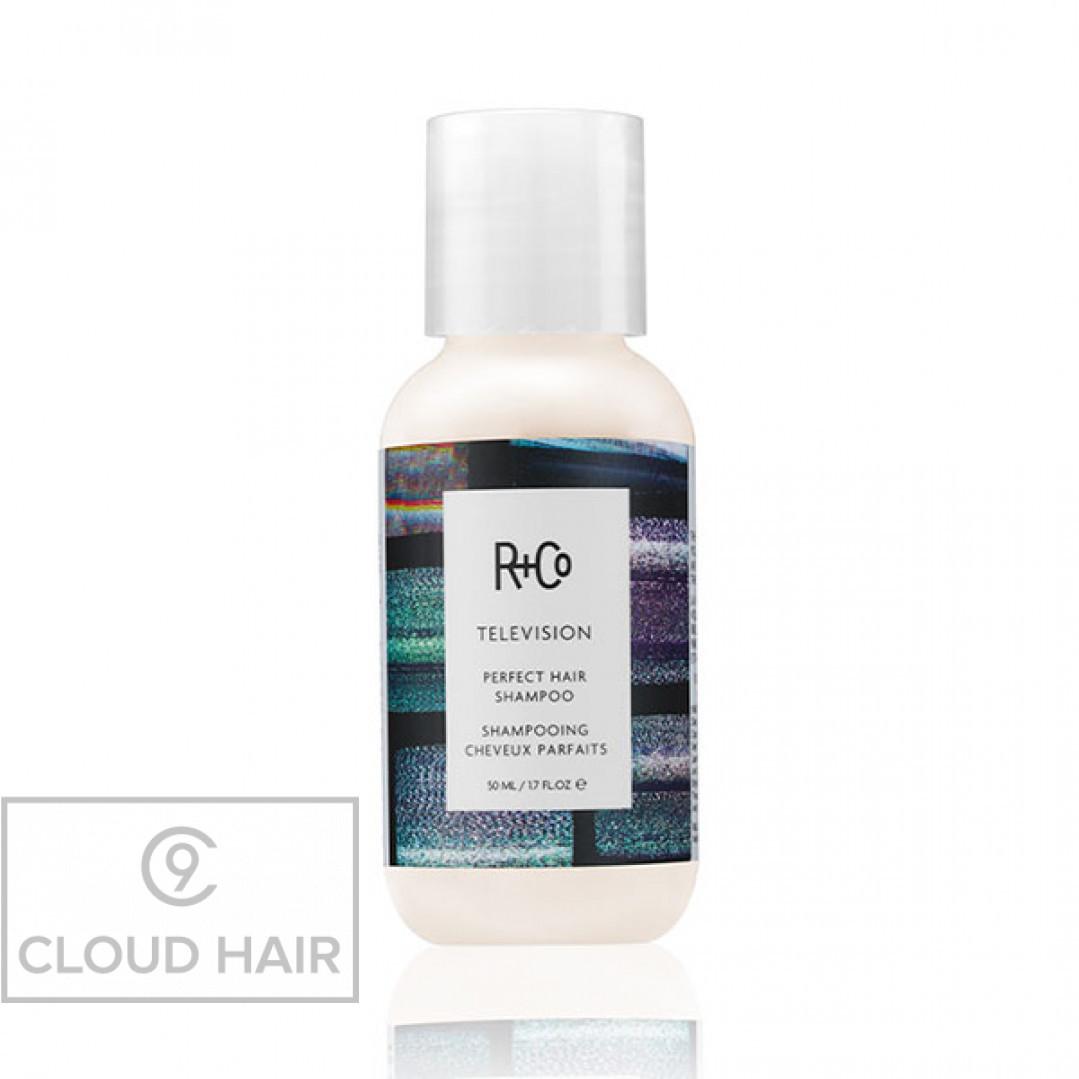 Шампунь для совершенства волос R+Co Прямой Эфир Televizion Perfect Hair Shampoo 50 мл R1SHPERF20A1