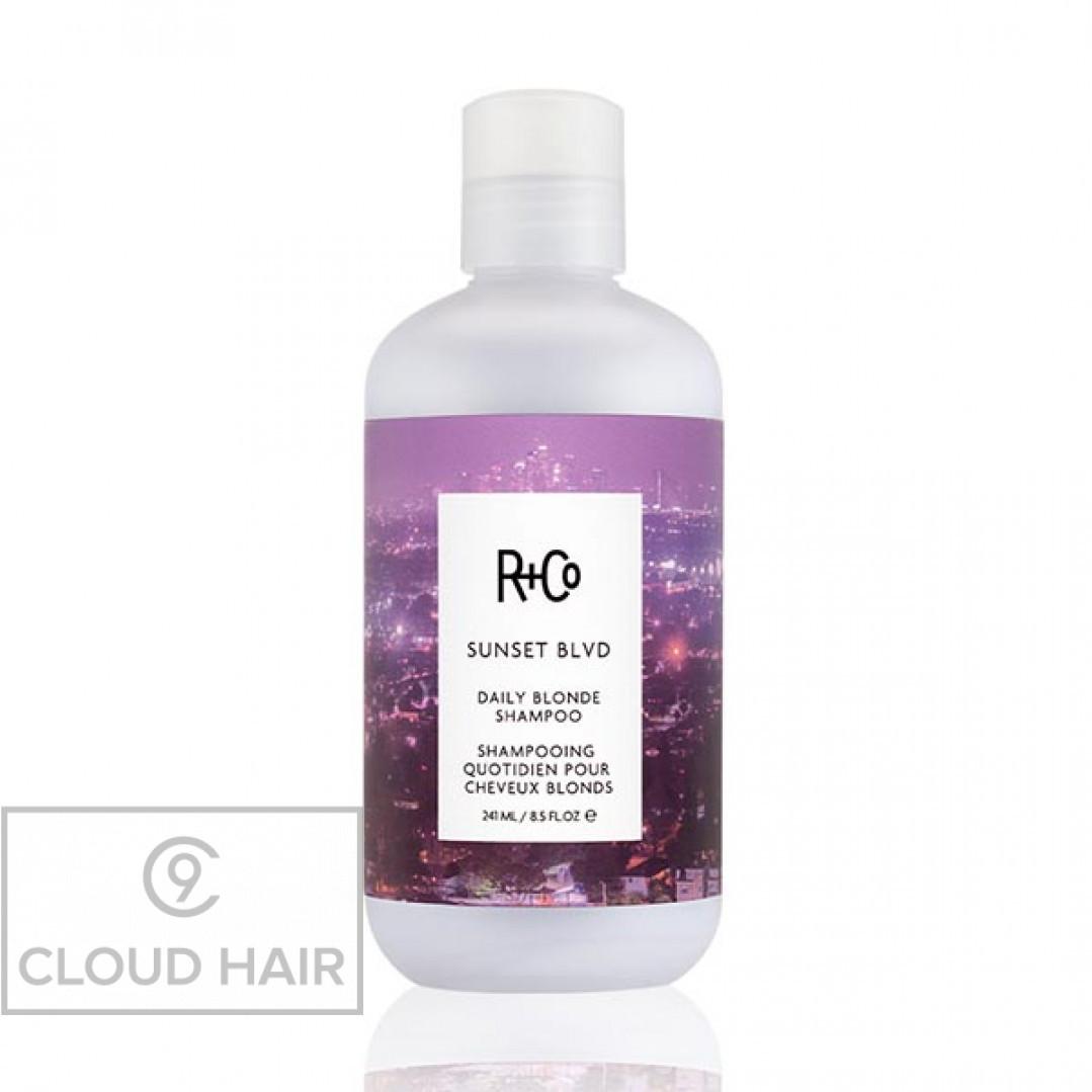 Шампунь для светлых волос R+Co Сансет Бульвар Sunset Blvd Blonde Shampoo 241 мл R1SHSUN08B1